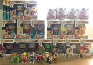 Street Fighter Lot Set