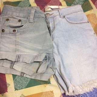 Bundle: Maong Shorts