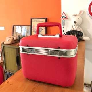 「早期化妝箱」 早期 古董 復古 懷舊 稀少 有緣 大同寶寶 黑松 沙士 鐵件 40年 50年