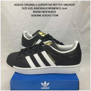 Adidas Originals Superstar J Reptile Sneaker