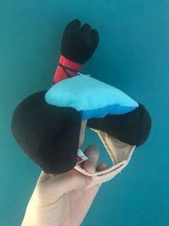 購於日本  日本武士 貓狗造型帽仔