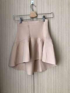 BCBG Beige Skirt