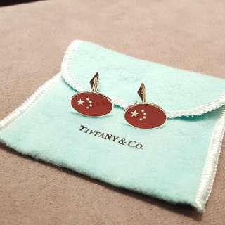 Tiffany & Co limited edition cufflinks
