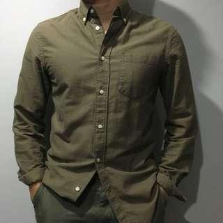 H&M Olive Shirt