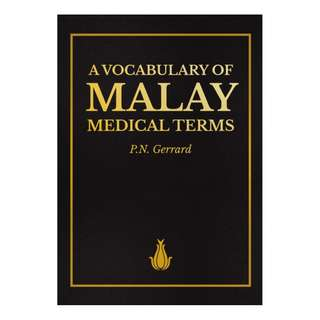 ​A Vocabulary Of Malay Medical Terms
