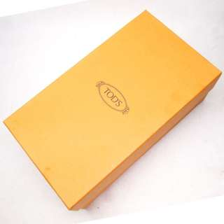 Authentic TODS Shoe Box (Inside Size: L 19 x B 16 x H 10 cm)