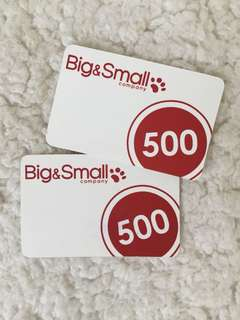 Big & Small - Gift Certificate