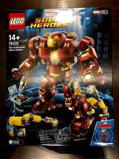Lego Marvel Super Heroes Hulkbuster Ultron Edition 76105