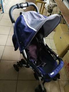 Combi royal blue baby Stroller imported from japan