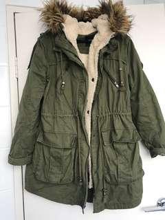 Olive winter jacket
