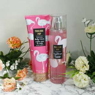 FREE SHIPPING MANILA 😘 Bath and Body Works Poolside Pop Body Mist & Lotion