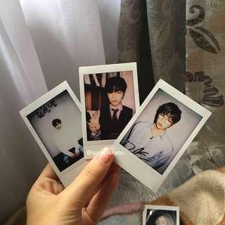 kang daniel wanna one signed polaroid
