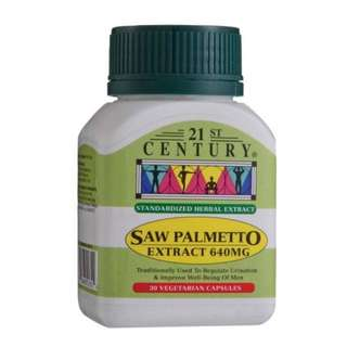 SAW PALMETTO EXTRACT 640MG 30'S