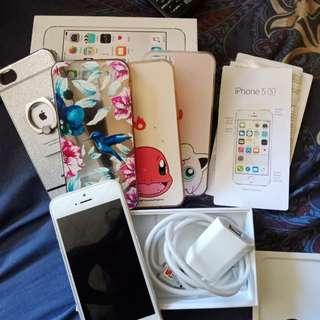 Iphone 5s 16gb silver (Ex ibox)
