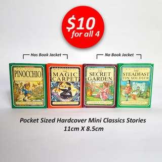 Mini Classics - Pinocchio, The Magic Carpet, The Secret Garden, The Steadfast Tin Soldier