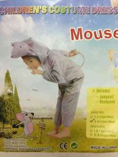 Mouse Kids Aninal Costume