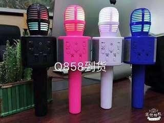 Bluetooth led mic