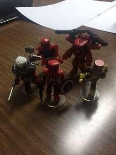 Marvel minimates deadpools assemble