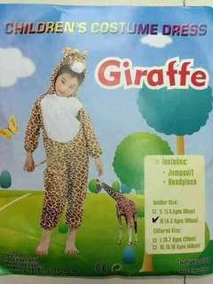 Giraffe Kids Animal Costume