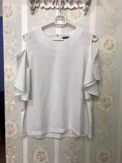 white blouse - size fit to L