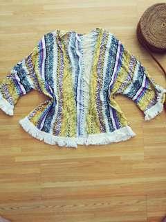summer boho kimono