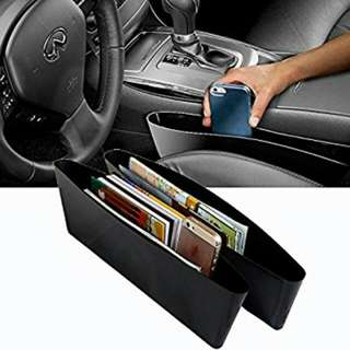 Car Seat Gap Slit Pocket Storage Holder (Universal)