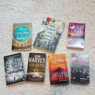 **Preloved & BNIP books** 7 titles