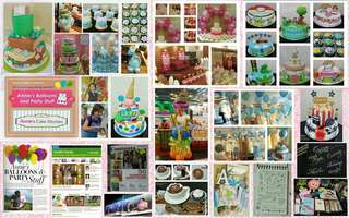 Cake, Cupcake, Balloon, and Party Giveaway Packages for Party Needs