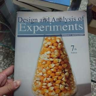 🚚 實驗設計 Design and analysis of experiment 7th