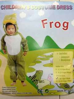 Frog Kids Animal Costume