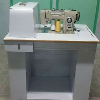 Sewing machine table (sewing machine & sewing accessories not included)