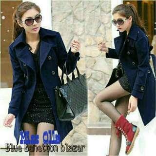 Blazer / Coat / Jacket Korea Benetton Blue