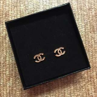Inspired Double C Chanel Earrings