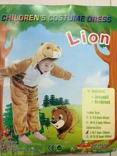 Lion Kids Animal Costume