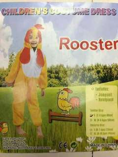 Rooster Kids Animal Costume