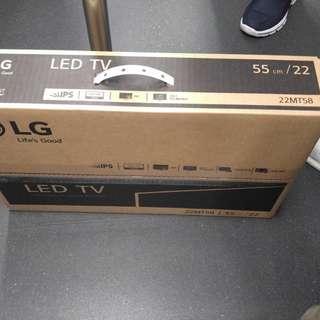 LG Led TV + Monitor 22MT58