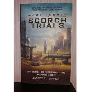 NOVEL SCORCH TRIAL ( SERI MAZE RUNNER ) MURAH