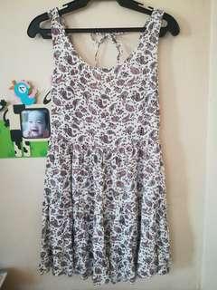 H&M paisley coachella dress