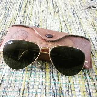 Vintage aviator rayban (RUSH)