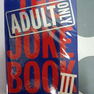 The Adult Joke Book lll Only