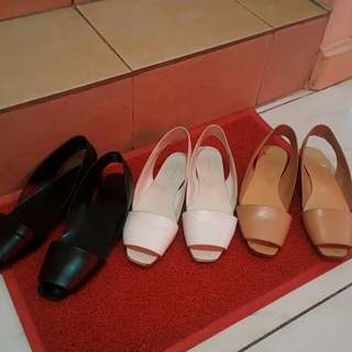 Charles and Keith shoes Bundle