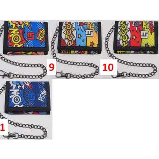 LATIF KIDS WALLET WITH CHAIN (UNISEX)