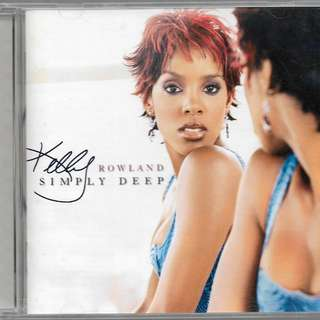 MY PRELOVED NEAR MINT CD - KELLY ROWLAND SIMPLY DEEP / FREE DELIVERY (F9H)