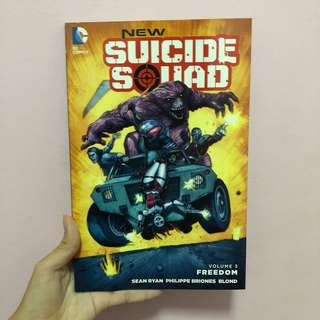 DC comics suicide squad volume 3: freedom