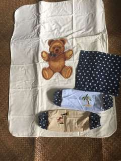 Baby blanket and pillow case bundle