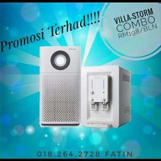 Water + Air Purifier