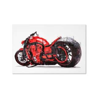 Red Sportsbike