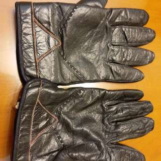 購自日本皮手套Bought from Japan leather gloves