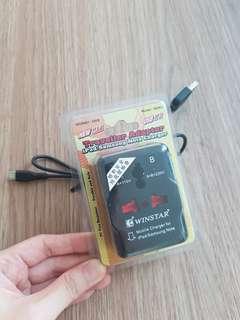Traveller adaptor charger 2USB