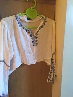 COCO CABANA crop top sleeve (REPRICE)